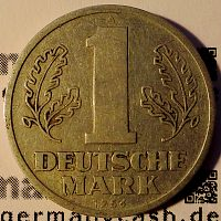 1 Deutsche Mark DDR - Jaeger Nr. 1513
