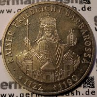 10 Deutsche Mark - Barbarossa - Jaeger-Nr. 449