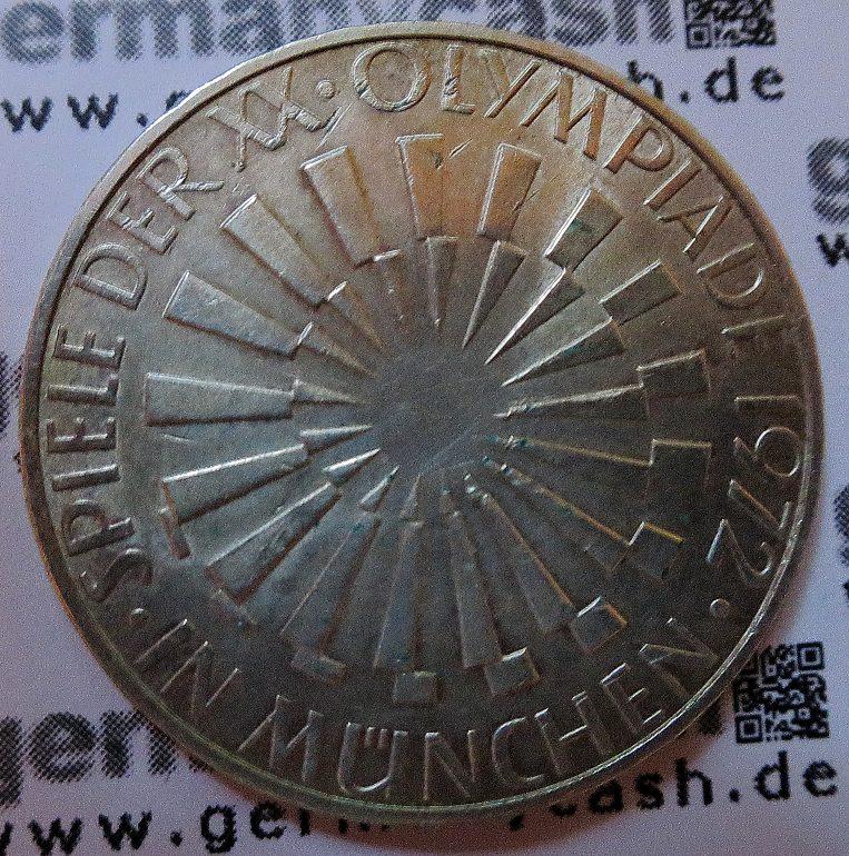 Olympiamunzen Der Bundesrepublik Deutschland Munchen 1972 Eine Ubersicht