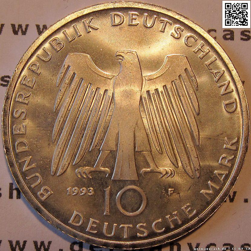 10 Deutsche Mark 1000 Jahre Potsdam Jaeger Nr 455