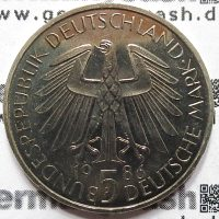 5 Deutsche Mark - Universität Heidelberg - Jaeger-Nr. 439